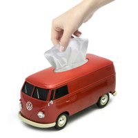 Official VW Camper Van Tissue Box Holder - Red