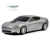 Official Aston Martin DBS Car Wireless Computer Mouse - Silver