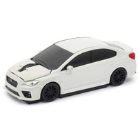 Official Subaru Impreza WRX Car Wireless Laser Computer Mouse - White