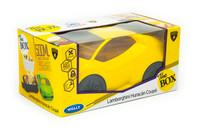 Official Lamborghini Huracan Kids School Lunch Box - Yellow