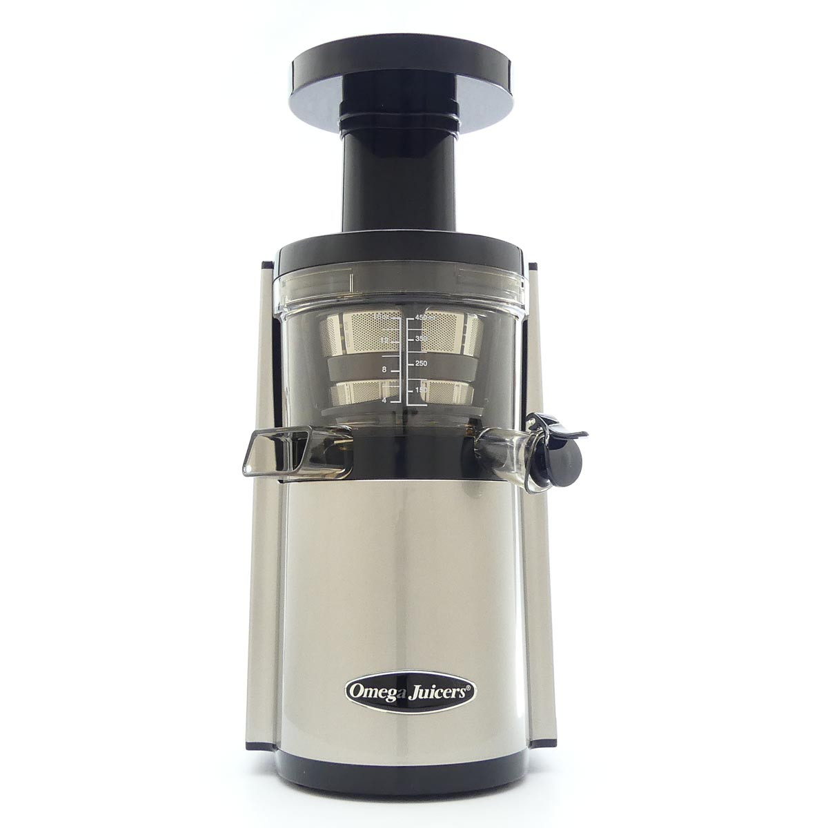 Omega VERT VSJ843RS Slow Juicer in Silver
