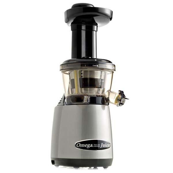 Omega Vert VRT400 HDS Slow Juicer Silver