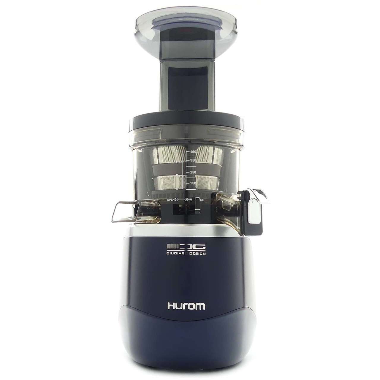 Hurom H-AE Alpha+ Slow Juicer in Navy Blue