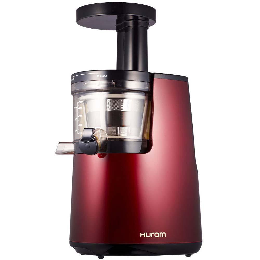 Hurom HU 700 Slow Juicer in Red