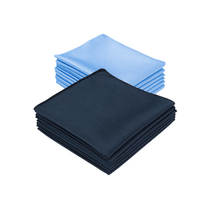 16 x 16 The Diamond Microfiber Glass Towel
