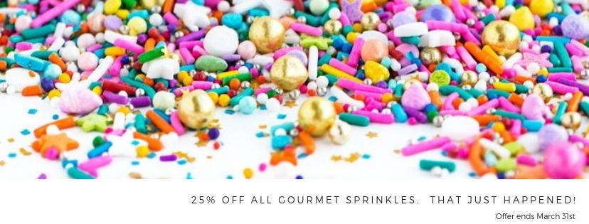 Gourmet sprinkles wholesale