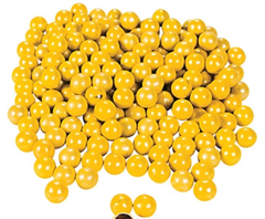 Chocolate Candies, Shimmer Yellow