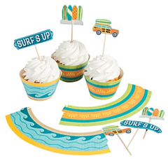 California Surf'in Cupcake Kit