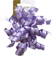 Satin Ribbon Curlies, Lavender