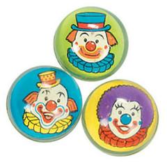 Clown Head Bouncy Balls