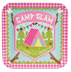 Glam Camping Dinner Plates