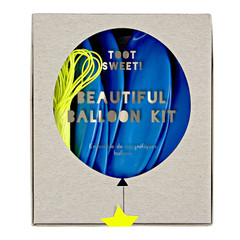 Balloons, Toot Sweet Blue Kit, 18""
