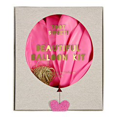 """Balloons, Toot Sweet Pink Kit, 18"""""""