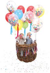 Balloons, Confetti Kit