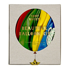 Balloons, Toot Sweet Multi-Colored Kit, 18""