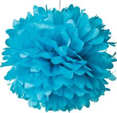 Pom Poms, Blue