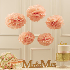 Pom Poms, Pink Perfection