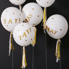 Balloons, Toot Sweet White Kit