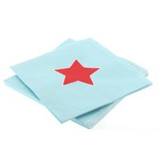 Blue & Red Star Napkins