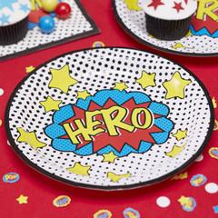 Super Hero Dinner Plates