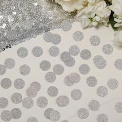 Confetti, Mini Silver Glitter