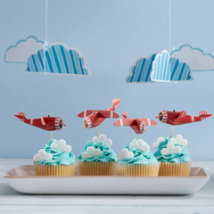 Up & Away Cupcake Sticks