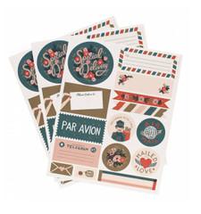 Par Avion Stickers & Labels