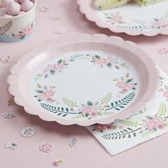 Floral Fancy Dinner Plates