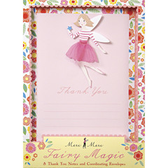 Fairy Magic Thank you Card