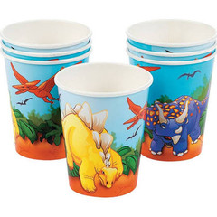 Dinosaur Roars Party Cups
