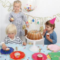 Happy Birthday Plates, Large