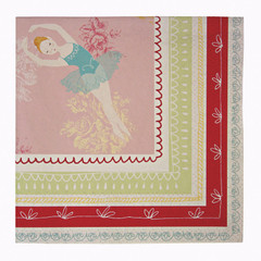 Little Dancer Ballet Lunch Napkins