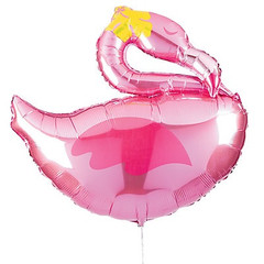 Flamingo Shaped Mylar Balloon