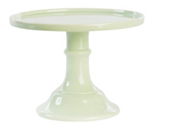 Miss Etoile Ceramic Cake Stand, Large, Lightest Green