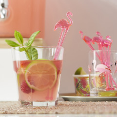 Forever Flamingos Drink Stirrers