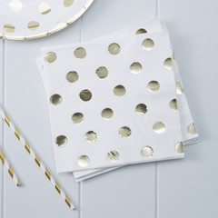 Delicious Dots Paper Napkins