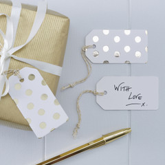 Delicious Dots Luggage Tags