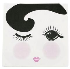 Miss Etoile Napkins, Open/Closed Eyes