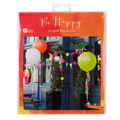 "Be Happy, 36"" Balloons"