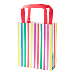 Party Bag, Rainbow Stripes