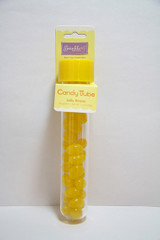 Jelly Bean Candy Tube, Yellow