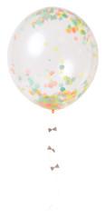 Balloon Kit, Giant Soft Neon Confetti