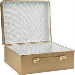 Suitcase, Mini Gold Centerpiece