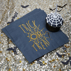 Trick or Treat Foiled Napkins