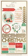Christmas on Market Street Stickers