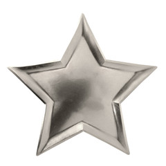 Seeing Stars, Silver Foil Plates, Large