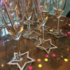 We love styling with these glittery stars.  They are so versatile you can use them for just about anything!