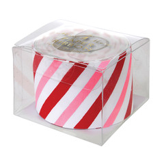 Paper Ribbon Wrap, Candy Stripe