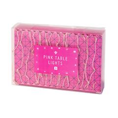 Table Lights, Pink