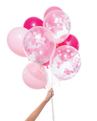 Balloons: 12 Pink Mix